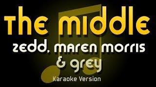 Download Lagu Zedd, Marin Morris & Grey - The Middle (Karaoke) Gratis STAFABAND