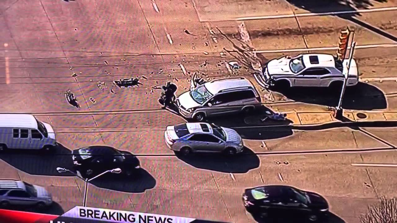 High Speed Chase Ends In Some Karma