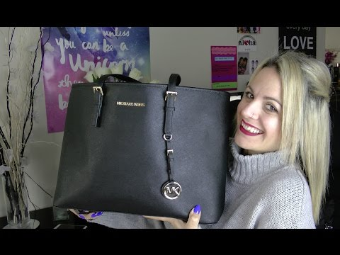 What's In My Bag?| Work Edition: Michael Kors Jet Set Travel Tote + Review