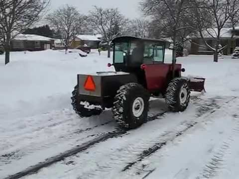 Homemade Articulated Tractor