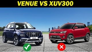 2019 comparison: Hyundai Venue vs Mahindra XUV300