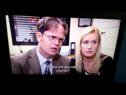 Dwight And Angela Gay Men Questions video