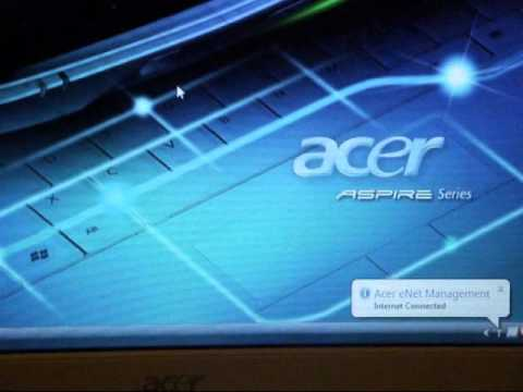 Acer Aspire 5520 wireless issues.wmv