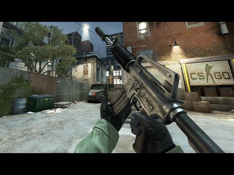 Cs:go - M4a1-s Basilisk Gameplay video