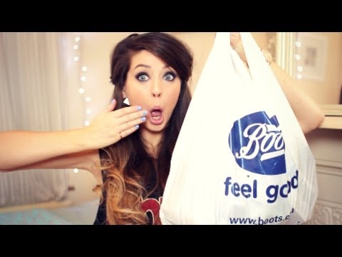 Big Drugstore Beauty Haul   Zoella