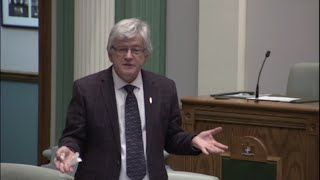 Jim Dinn speaks about Public Health Act amendments