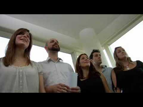 Ward Swingle, The Swingle Singers - BACH&friends - Michael Lawrence Films