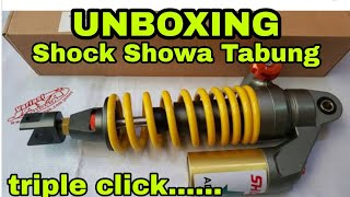 Unboxing Shock Showa Tabung // Showa advantage triple click