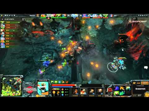Fnatic EU vs 4FC - BigPoint Battle DOTA 2 - Sheever