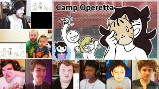 My Time at Camp Operetta REACTIONS MASHUP