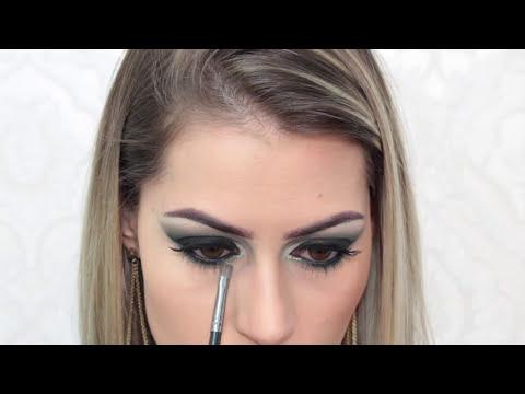 Maquiagem Verde Sofisticada - Super Chique - Por Bárbara Thais
