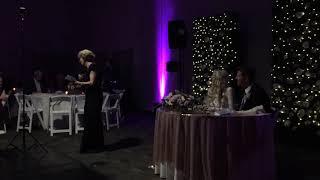 Meehan Wedding - Dawn's speech
