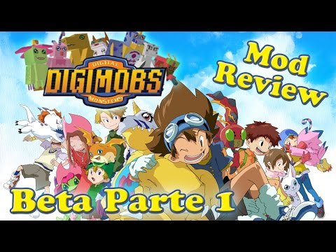 Nueva actualización / Digimobs Beta Parte 1 (1.7.10) / Minecraft Mod Review