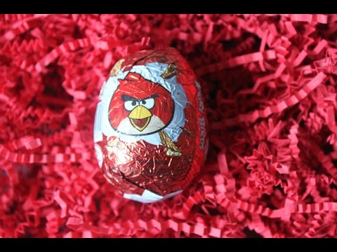 Angry Birds Surprise Egg Unboxing 愤怒小鸟出奇蛋玩具开箱
