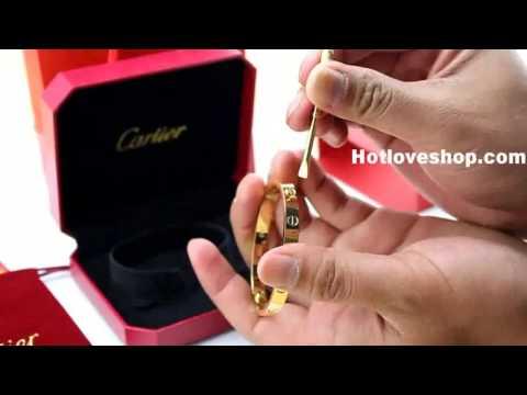 Cartier Love Bracelet Replica 1:1 Top Quality