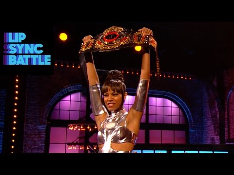 Zoe Saldana's Winner Moment | Lip Sync Battle
