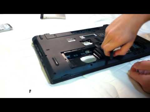 Acer Aspire 7741G / 5741G / 5253G Laptop disassembly Part I