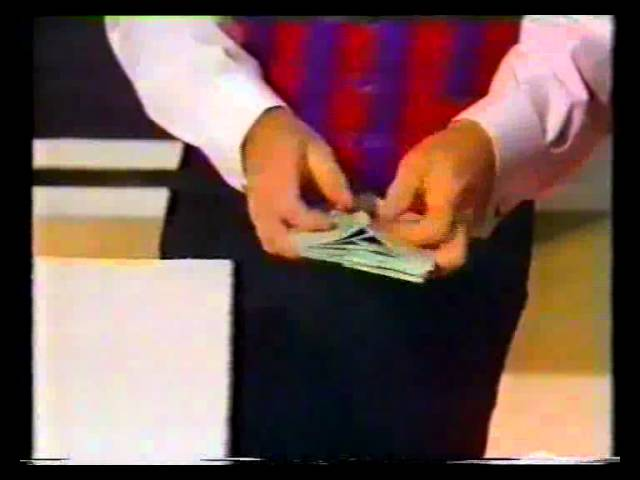 Paul Daniels Money Estimation routine