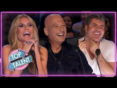 FUNNIEST COMEDIANS ON AMERICA'S GOT TALENT! | TOP TALENT Auditions