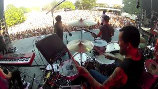 Ylvis Video - YLVIS - WORK IT drum cam Stavern Festival 12.07.14