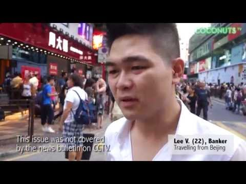 What do mainland Chinese tourists think of Hong Kong protests?