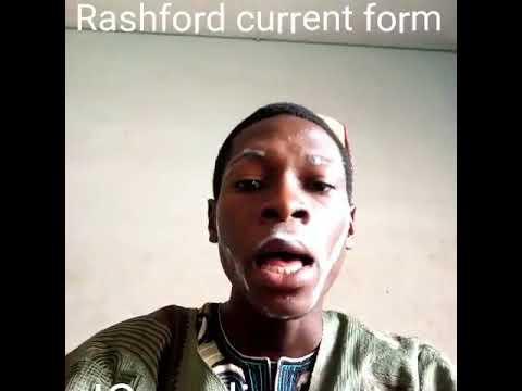 Woli sports on Rashford's form