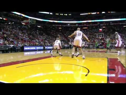 Ray Allen hits 7 threes vs. Miami Heat (Nov. 11, 2010)