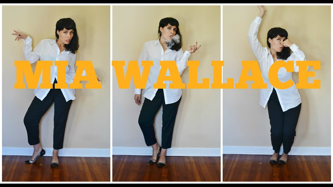 Mia Wallace Pulp Fiction Outfit Mia Wallace Pulp Fiction