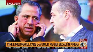 Cine este milionarul care l-a umilit pe Gigi Becali în Pipera. Cum arată casa acestuia