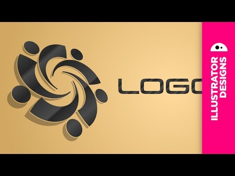 Adobe Illustrator // simple logo
