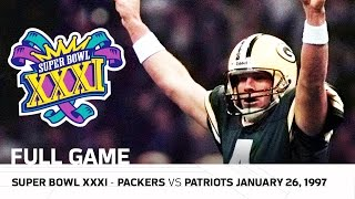 Download Brett Favre's First Super Bowl Win! | Packers vs. Patriots Super Bowl XXXI | NFL Full Game 3Gp Mp4