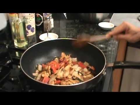 How to make spicy kung pao chicken