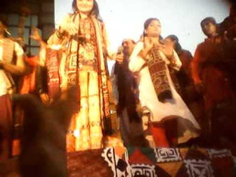 Shai Syed Ameer Nawab with Shazia Khushk
