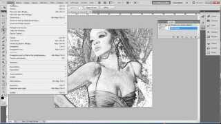 Script Photoshop effet dessin (www.studio-media.fr)