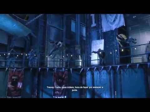 Batman: Arkham Origins - indo atr?s do coringa e enfrentando o choque