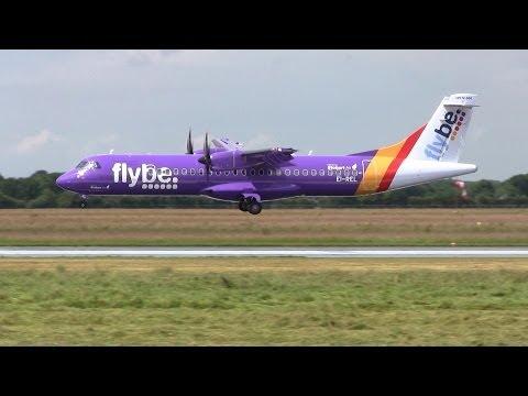 Flybe ► ATR 72-500 ► Inaugural Landing ✈ Groningen Airport Eelde