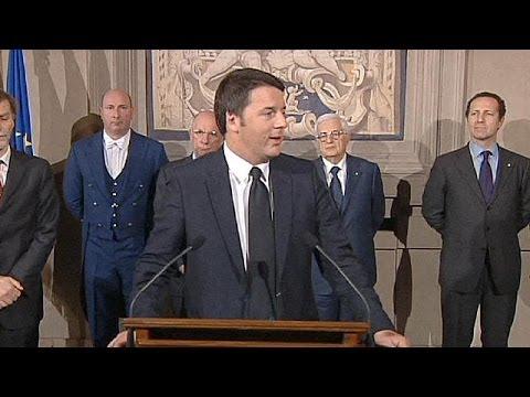 Italie: Matteo Renzi présente son gouvernement