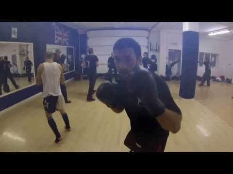 gopro 3 test. kickboxing, light sparring Image 1