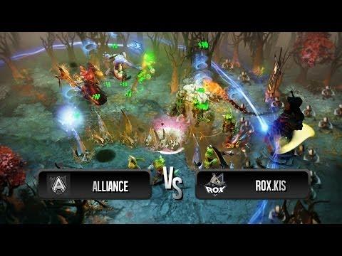 Awesome Impale + Echo Slam by Alliance vs RoX.KIS @ XMG Captains Draft Invitational