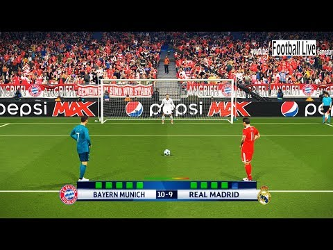 PES 2018 | Bayern Munich vs Real Madrid | UEFA Champions League (UCL) | Penalty Shootout thumbnail