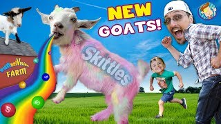 CATCH the new GOAT! (FV Family Vlog)