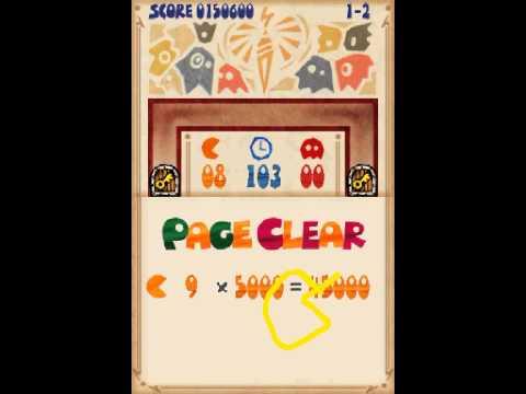 Pac-Pix Gameplay DS