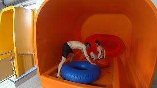 Most Fun Water Slide at Aquapark Wrocław
