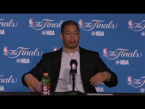 Tyronn Lue Postgame News Conference Warriors Vs Cavs Finals Game