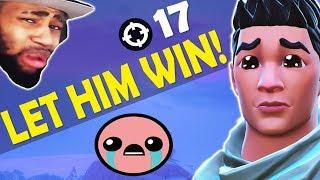 LET HIM WIN DAEQUAN.. :(  - HEADSHOTS ALL AROUND | HIGH KILL FUNNY GAME - (Fortnite Battle Royale)