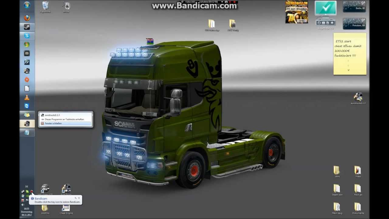 ets 2 geld cheat