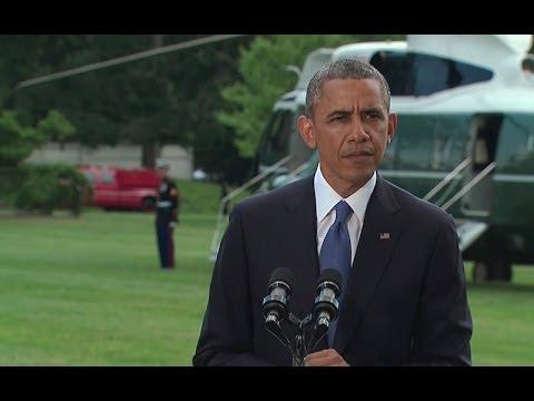 President Obama Makes a Statement on Iraq