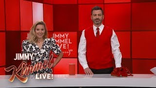 Holiday Shopping with Jimmy Kimmel, Kristen Bell & More Huge Stars! (RED) Shopathon 2018