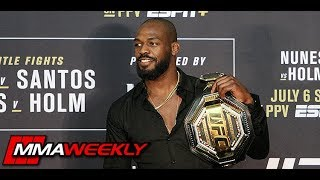 Jon Jones Details What Went Wrong  (UFC 239 Post Fight Press Conference)