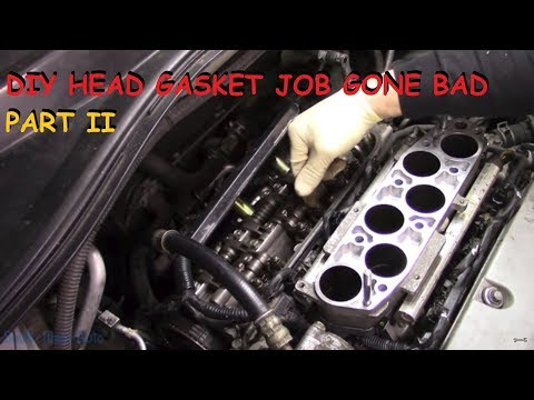 Honda DIY Head Gasket - Vehicle Will Not Start Now - Part II
